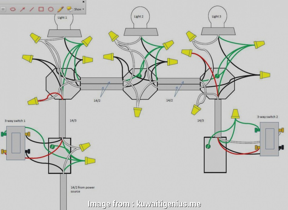 wiring three way switch with 14-2 New Wiring Diagrams 3, Switch Video On, To Wire A Three In, Diagram 13 Perfect Wiring Three, Switch With 14-2 Ideas