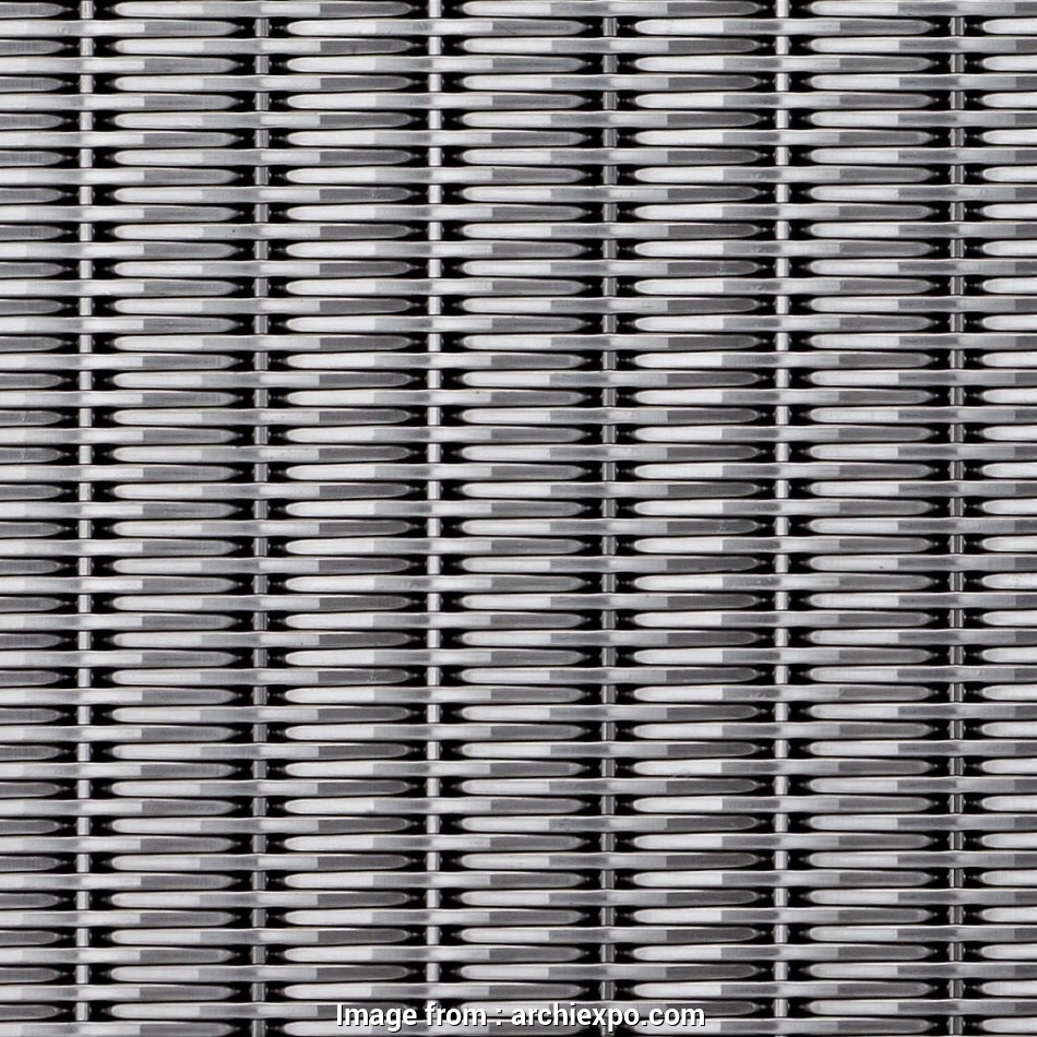 woven wire mesh banker Cladding woven wire fabric / stainless steel / brass / bronze, DF 9 Best Woven Wire Mesh Banker Solutions