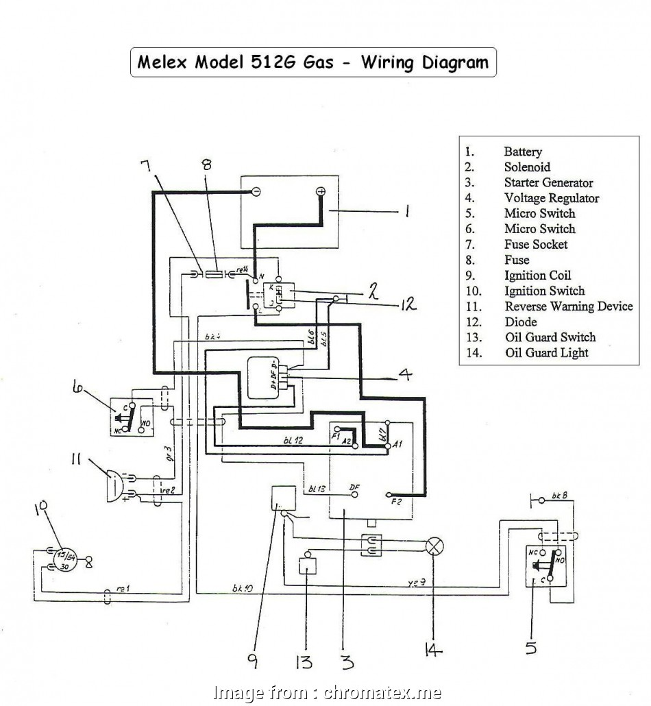 10 Most Yamaha Golf Cart Starter Wiring Diagram Ideas