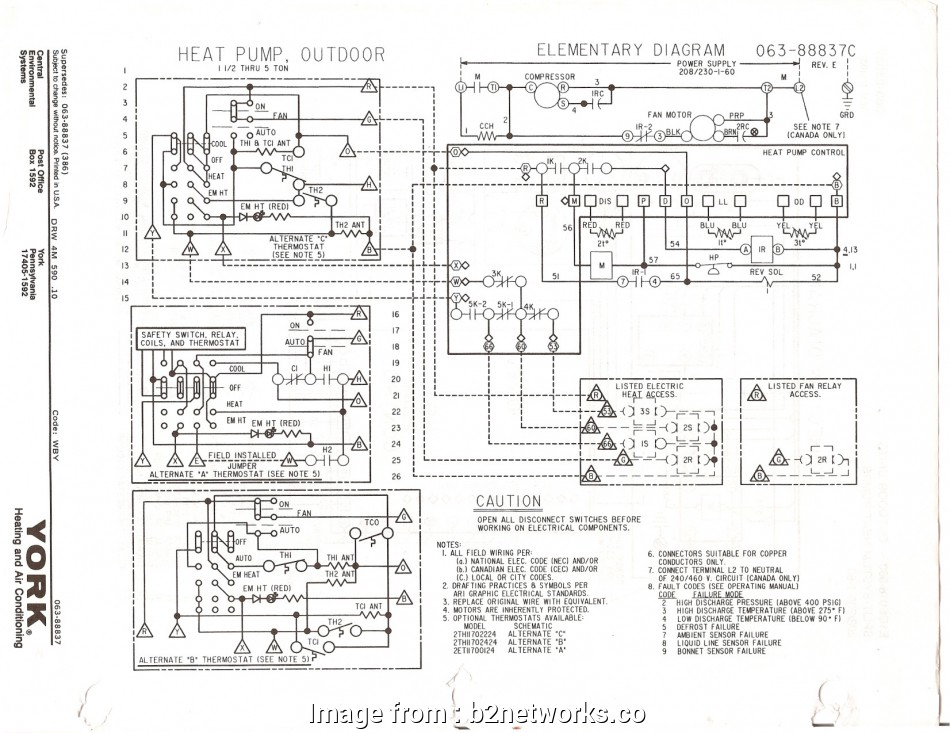 York Affinity Thermostat Wiring Diagram Perfect     Ruud