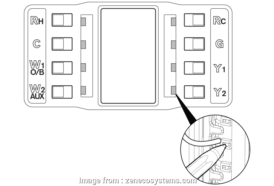 zen thermostat wiring diagram Review your wiring diagram & connect your wires 8 New Zen Thermostat Wiring Diagram Collections