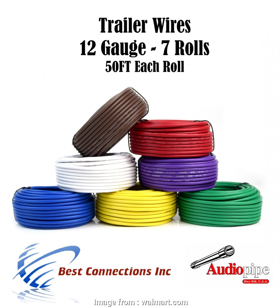 12 Gauge 7 Conductor Wire Professional 7  Trailer Wire