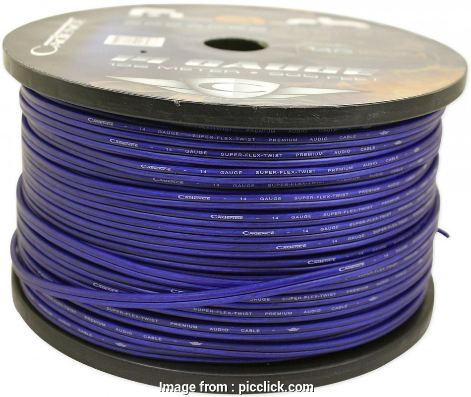 14 gauge wire by the foot Cadence 14, Gauge 25 Foot Blue, Speaker Wire, True Gauge Wire 1 of 4FREE Shipping Cadence 14, Gauge 25 Foot Blue, Speaker Wire 9 New 14 Gauge Wire By, Foot Collections