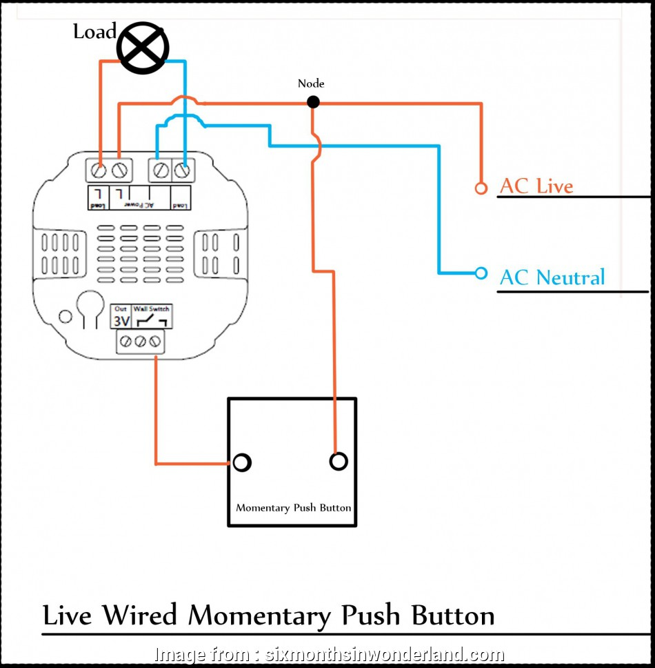 2  Momentary Switch Wiring Creative Wiring 2 Lights To 1
