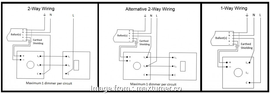 2  Switch Wiring Diagram With Dimmer New Varilight