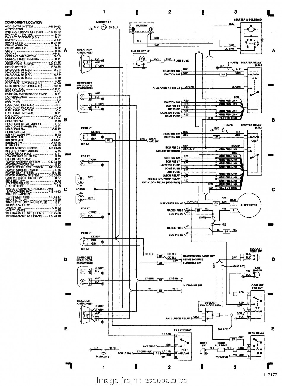 2007 Jeep Wrangler Starter Wiring Diagram Professional