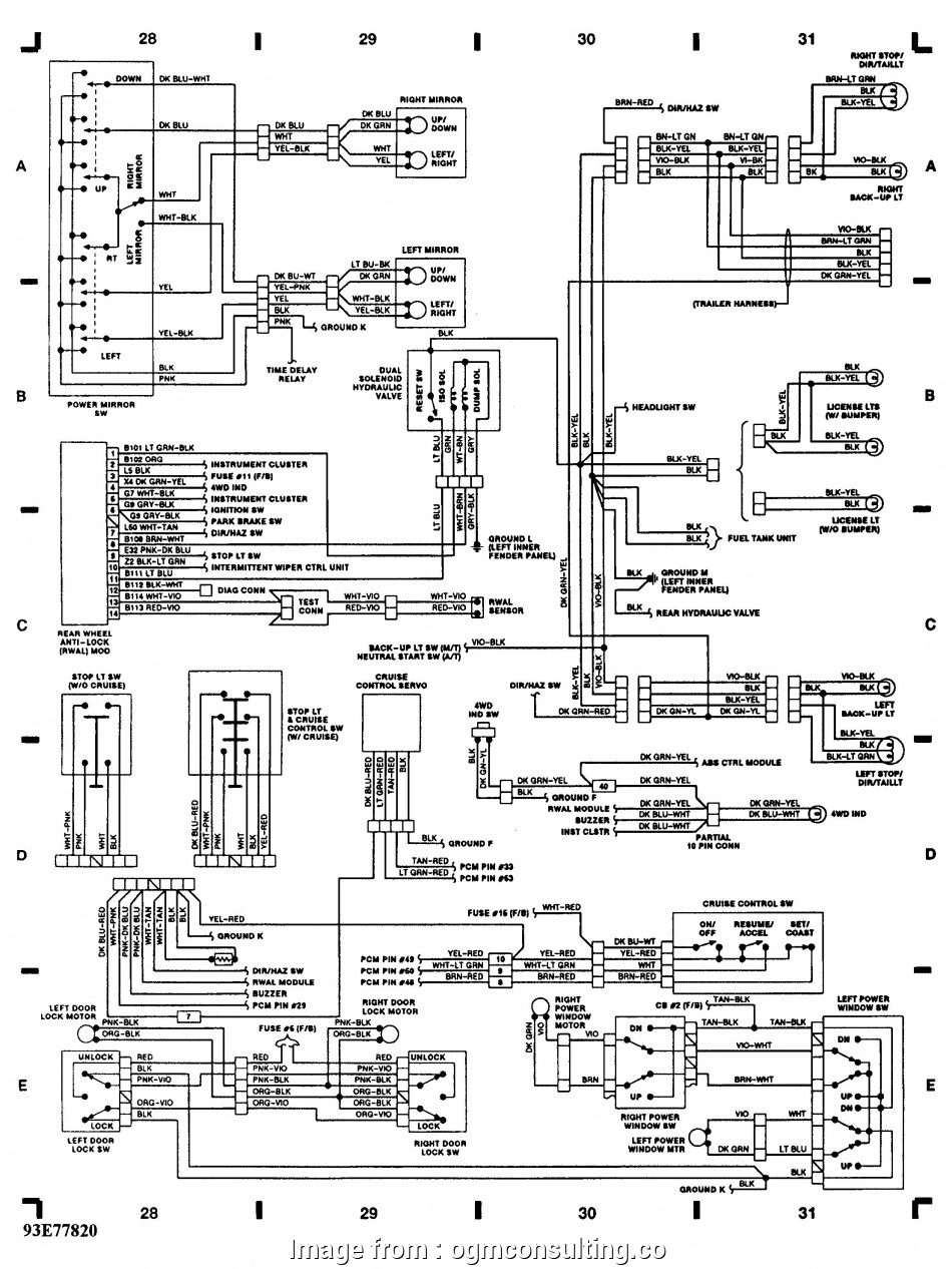 2010 Dodge  Trailer Brake Wiring Diagram Professional 96 Dodge  1500 Tail Light Wiring Diagram