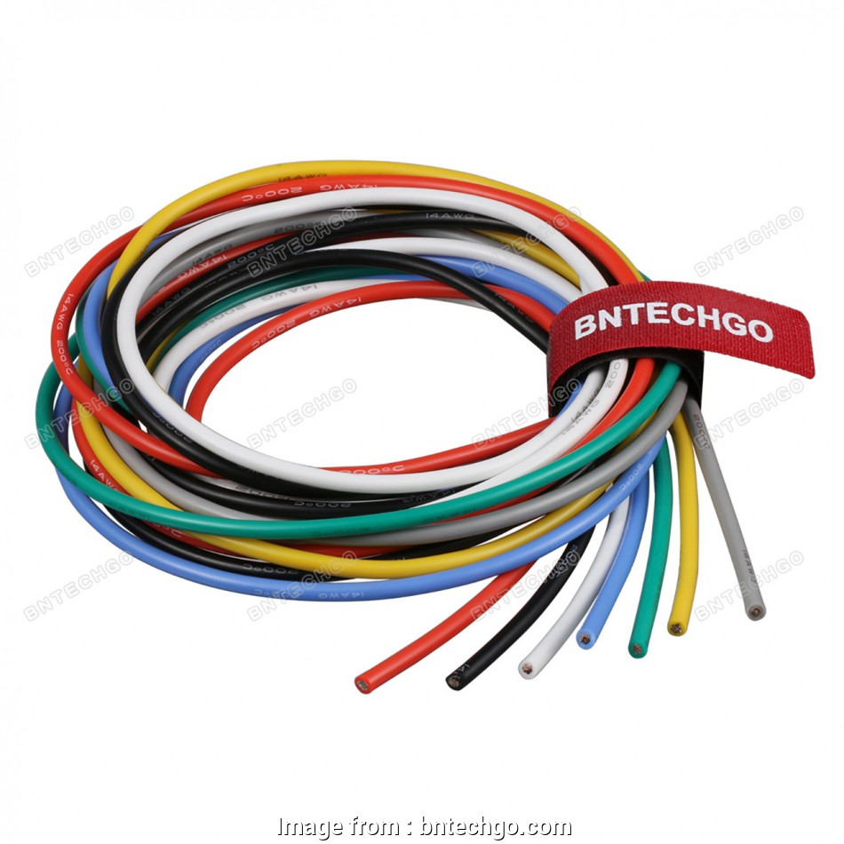 24 gauge silicone wire BNTECHGO 14 Gauge Silicone Wire, Ultra Flexible 7 Color High Resistant 600V, deg C Silicone Rubber Insulation 14, Silicone Wire, Strands 13 Creative 24 Gauge Silicone Wire Photos