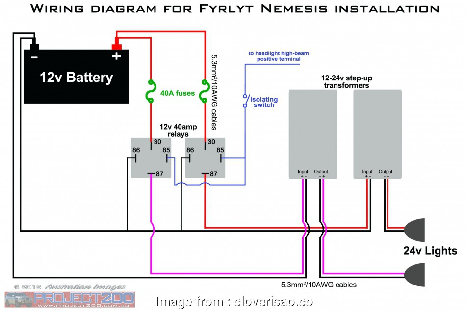 24V Thermostat Wiring Diagram from tonetastic.info