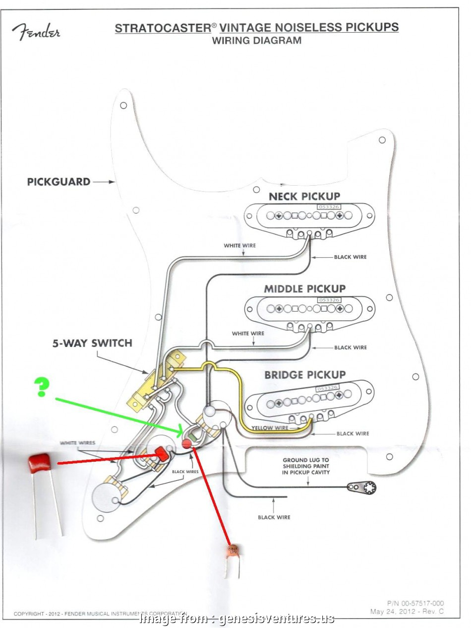 Telecaster Wiring Diagram S1 Switch Noiseless Version 4 from tonetastic.info