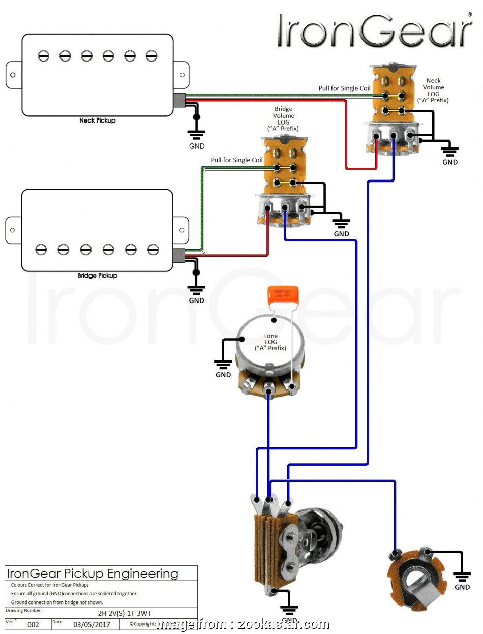 3 Humbucker 1 Volume Middle Pickup Straight To Output Wiring Diagram Les Paul from tonetastic.info