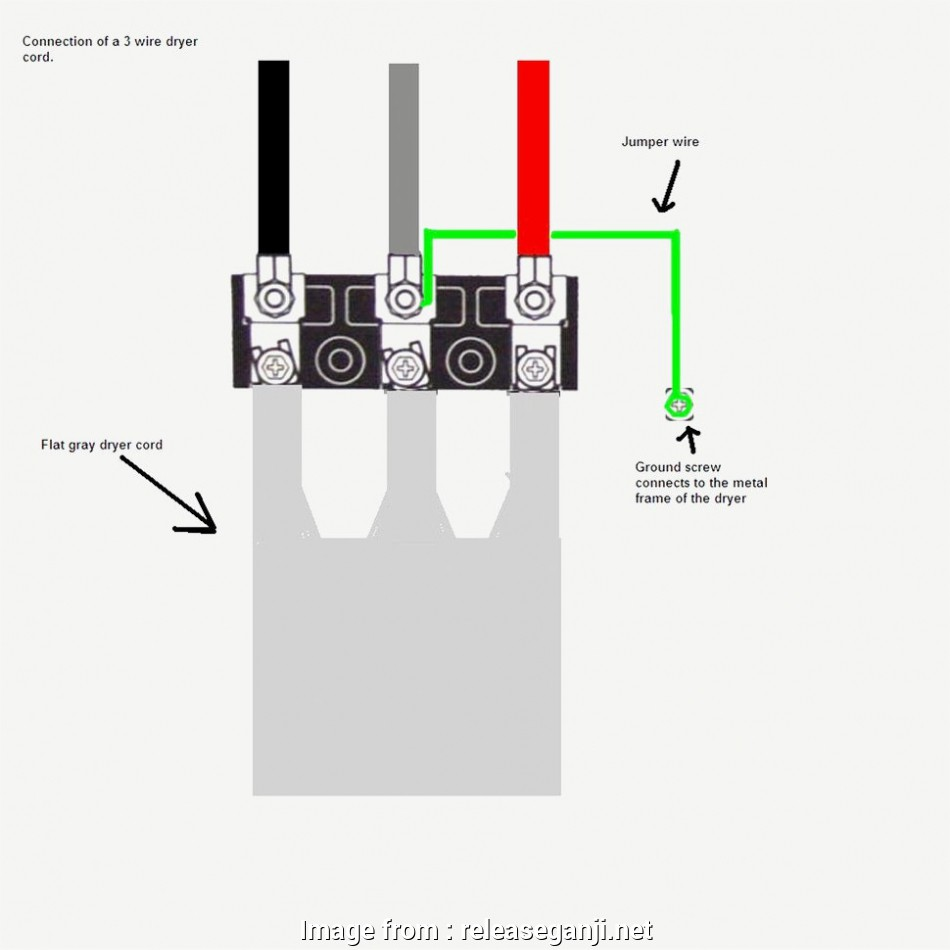 4 Prong Dryer Outlet Wiring Diagram Perfect     Best 3