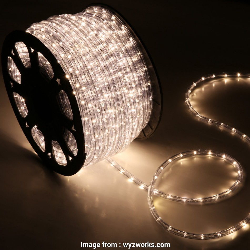 5 wire led rope light 150' Warm White 2 Wire 110v, Rope Light Home Outdoor Christmas Lighting 5 Wire, Rope Light Creative 150' Warm White 2 Wire 110V, Rope Light Home Outdoor Christmas Lighting Photos
