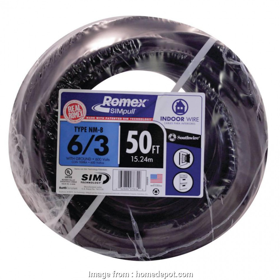 8 gauge wire amps 12v 50, 6/3 Stranded Romex SIMpull CU NM-B, Wire 8 Gauge Wire Amps 12V Popular 50, 6/3 Stranded Romex SIMpull CU NM-B, Wire Solutions