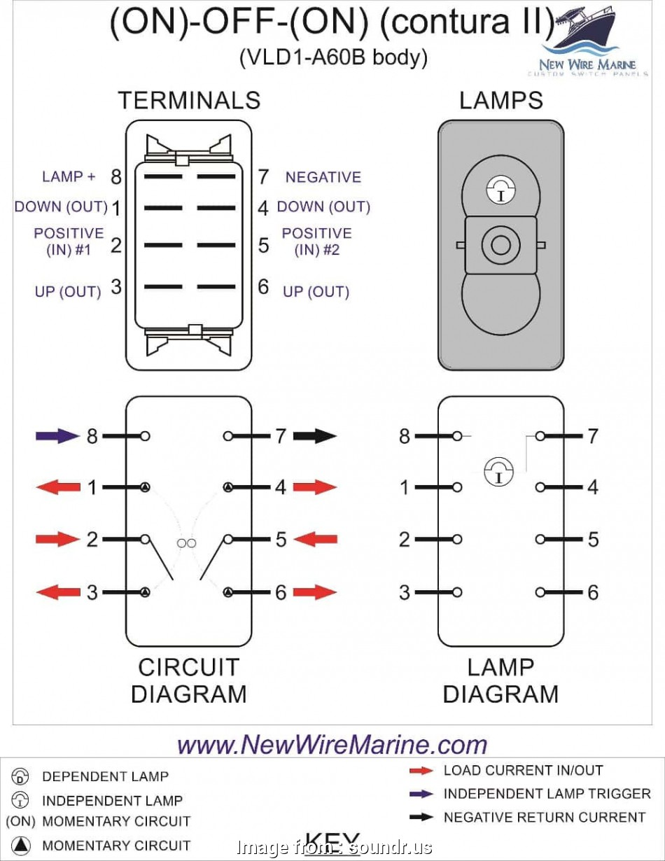 9 pin toggle switch wiring diagram 9, toggle Switch Wiring Diagram Tilt Trim Rocker Switch Carling Contura Ii 14 Popular 9, Toggle Switch Wiring Diagram Collections