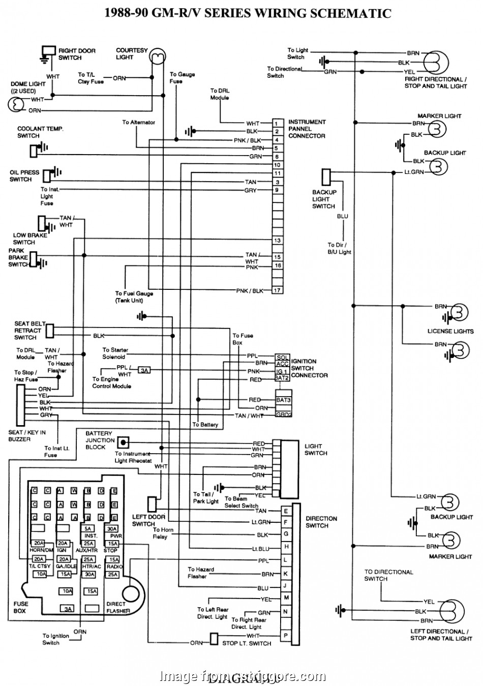 97 Tahoe Starter Wiring Diagram Cleaver Tahoe Ignition