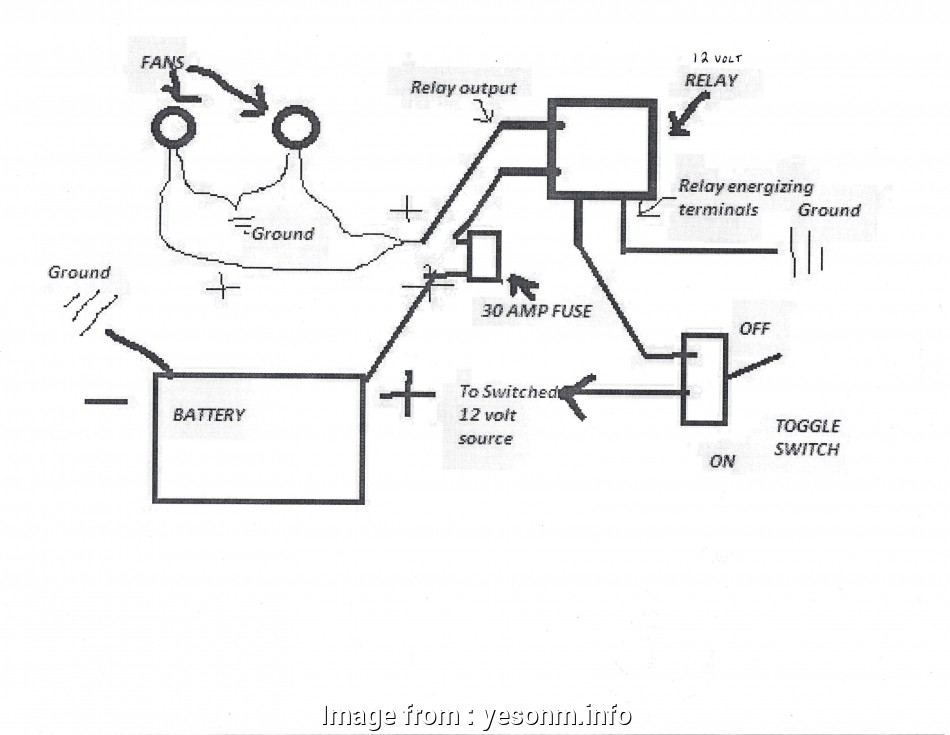 Automotive Cooling  Relay Wiring Diagram Most Wiring