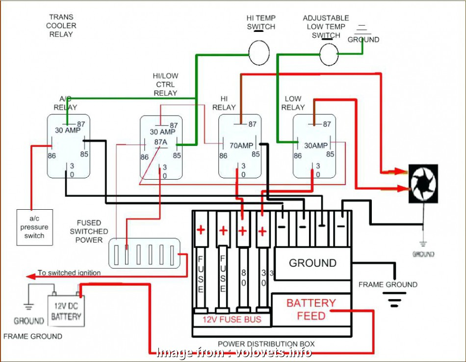 Automotive Electric  Relay Wiring Diagram Perfect Dual 1