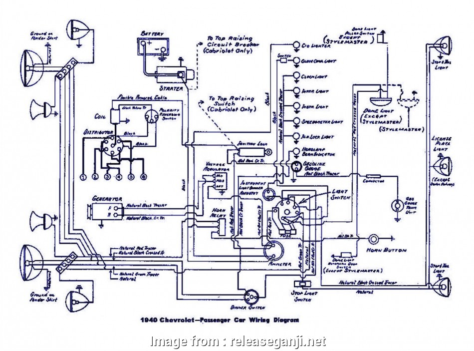 Automotive Wiring Diagram Free Simple     Auto Wiring