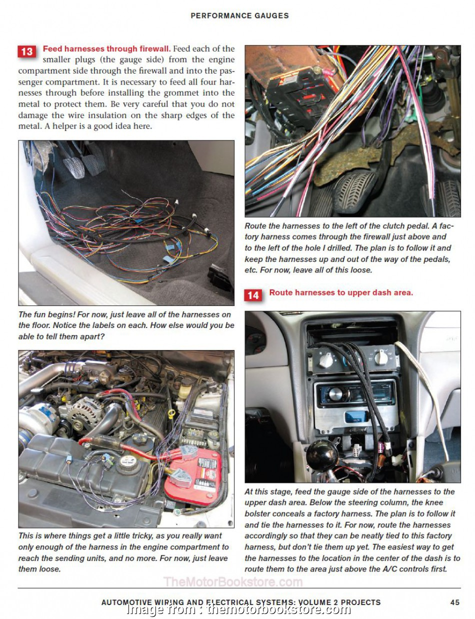 automotive wiring and electrical systems Automotive Wiring & Electrical Systems Volume 2: Performance Projects 8 Most Automotive Wiring, Electrical Systems Galleries