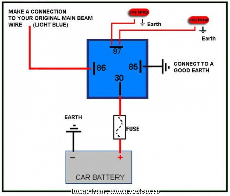 Automotive Wiring Relays Diagram Most Automotive  Relay