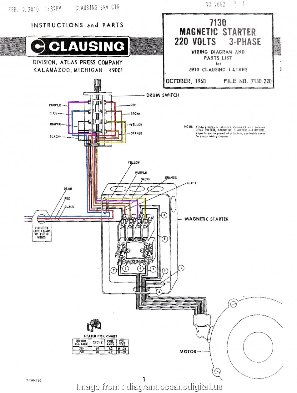 Autotransformer Motor Starter Wiring Diagram Simple Dual ...