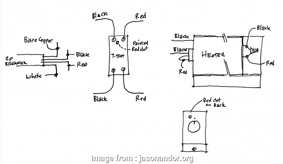 Baseboard Heater Thermostat Wiring Diagram Practical