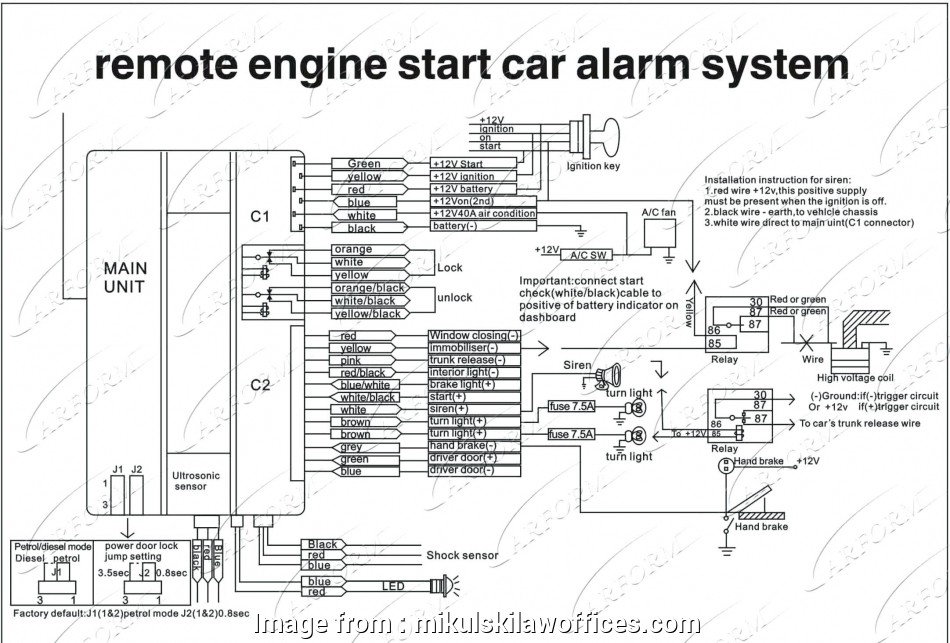 Bulldog Wiring Diagram Perfect Alert Automotive Wiring