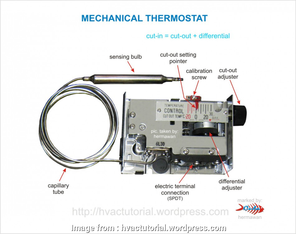 Capillary Thermostat Wiring Diagram Nice Mechanical