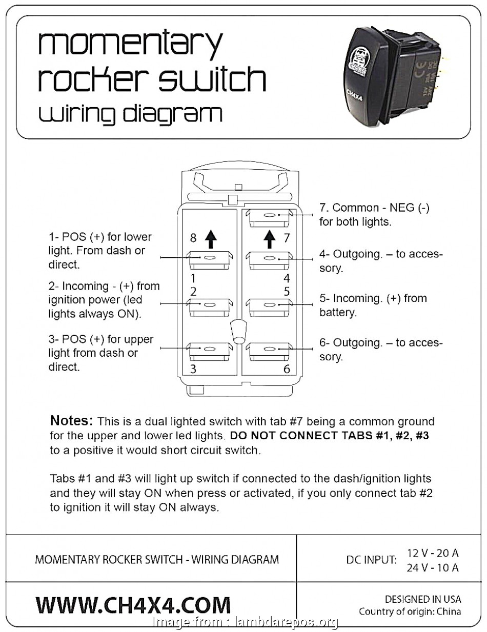 Carling Toggle Switch Wiring Diagram Best Rocker Switch