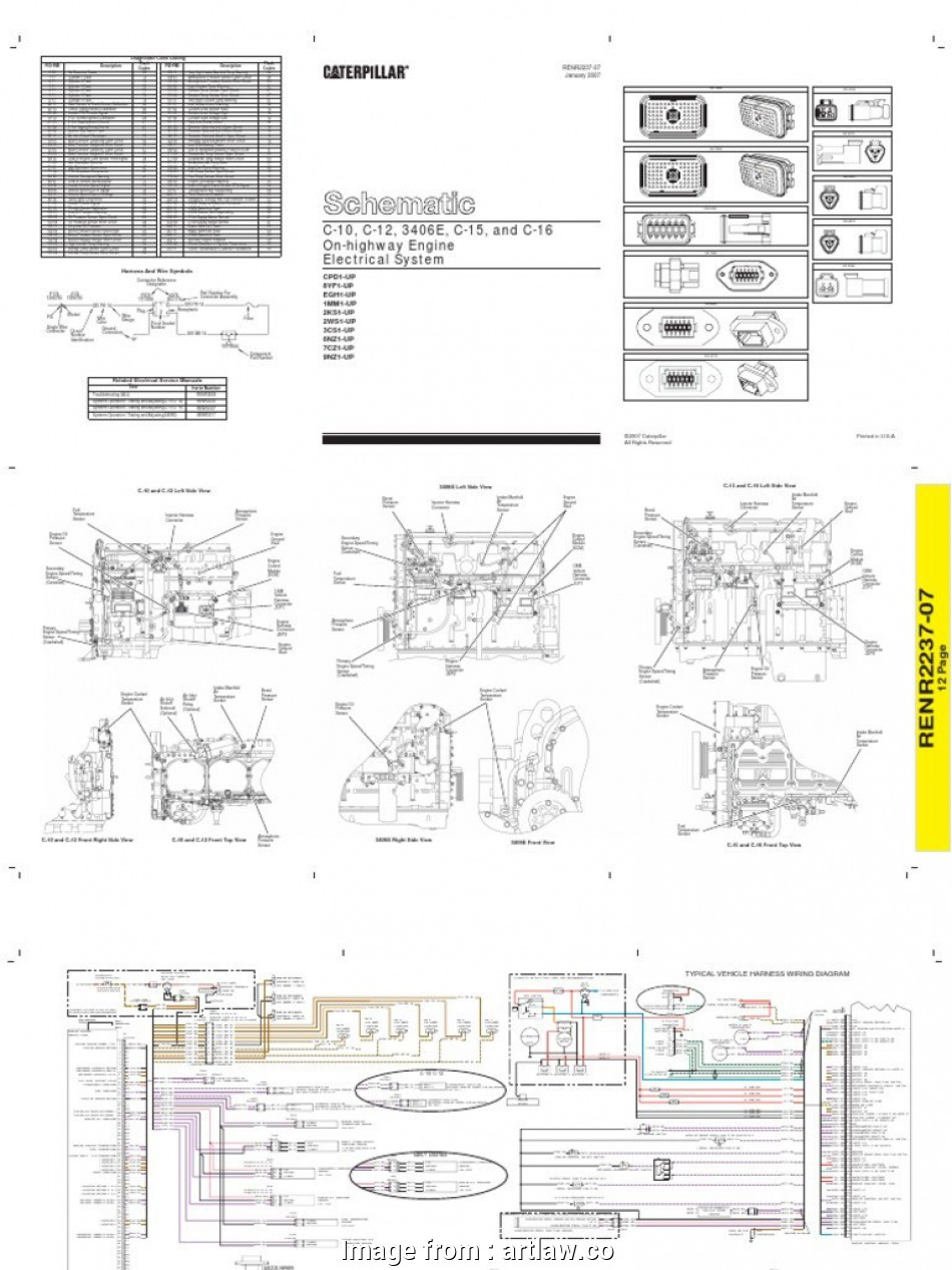 Cat 5 Wiring Diagram 2 Pair Perfect Cat 40  Ecm Wiring Diagram Arcnx Co Rh Arcnx Co  3 Cable