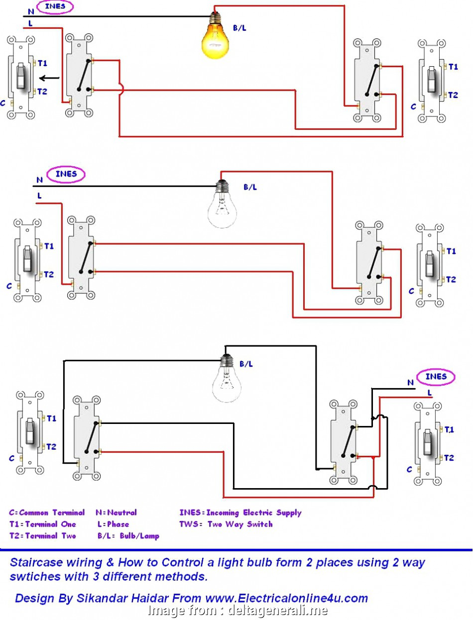 Ceiling Rose Wiring 2  Switch Professional 2  Switch