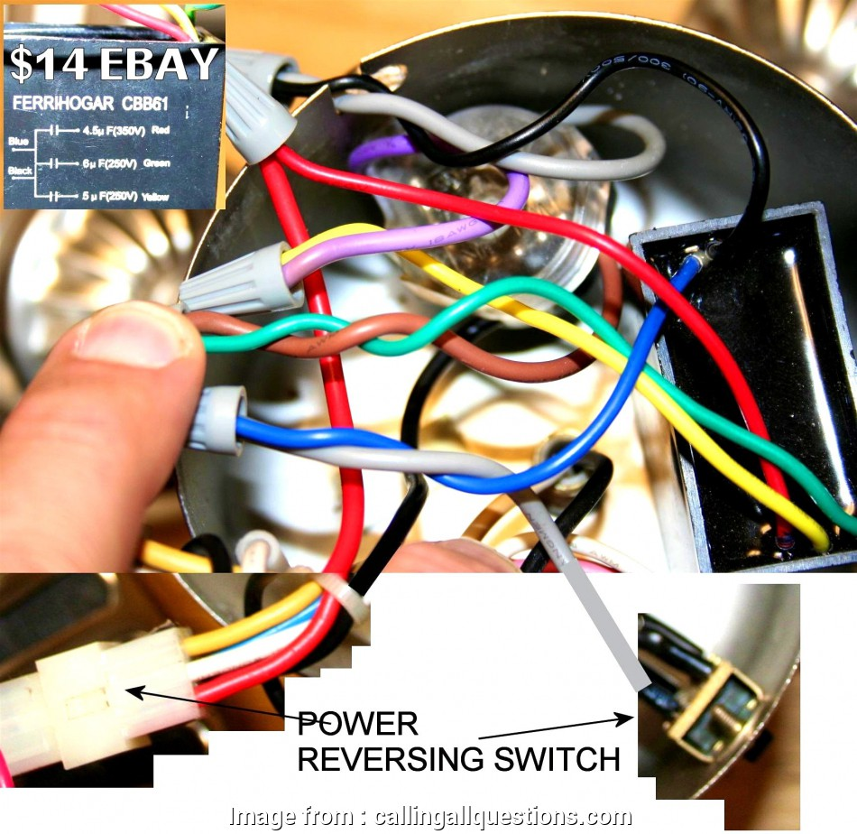 Ceiling  Switch Wiring Diagram Hunter Cleaver 3 Speed 4 Wire  Switch Wiring Diagram