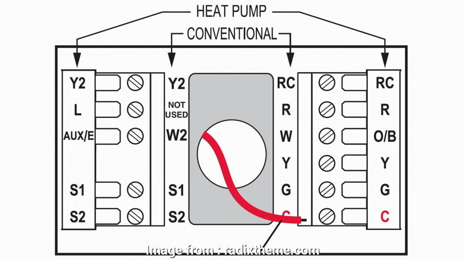 Home Ac Thermostat Wiring Diagram from tonetastic.info