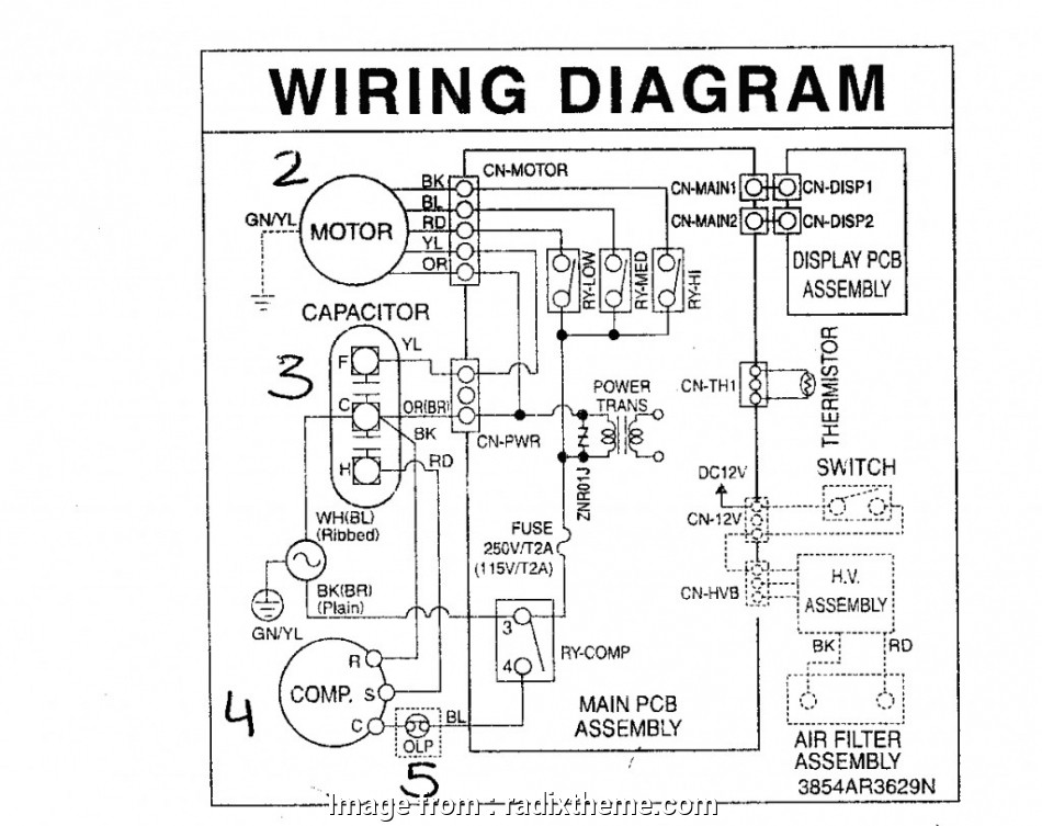 8 Popular Central  Thermostat Wiring Diagram Pictures