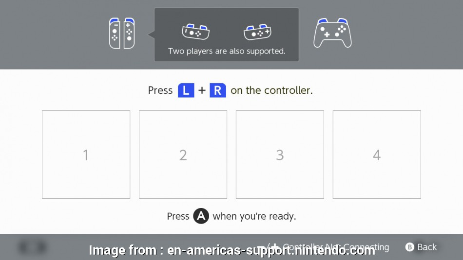 connect switch joy con Once paired,, player LED(s) corresponding to, controller number will remain lit Connect Switch, Con Brilliant Once Paired,, Player LED(S) Corresponding To, Controller Number Will Remain Lit Solutions