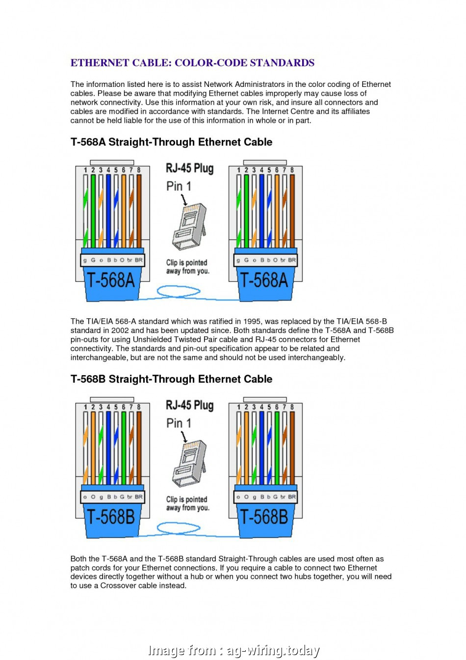 Crossover Ethernet Cable Wiring Diagram New Ethernet  6