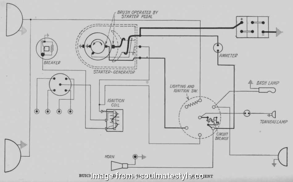 Delco Starter Wiring Diagram Cleaver Pictures Starter Generator Wiring Diagram  Garden Tractors