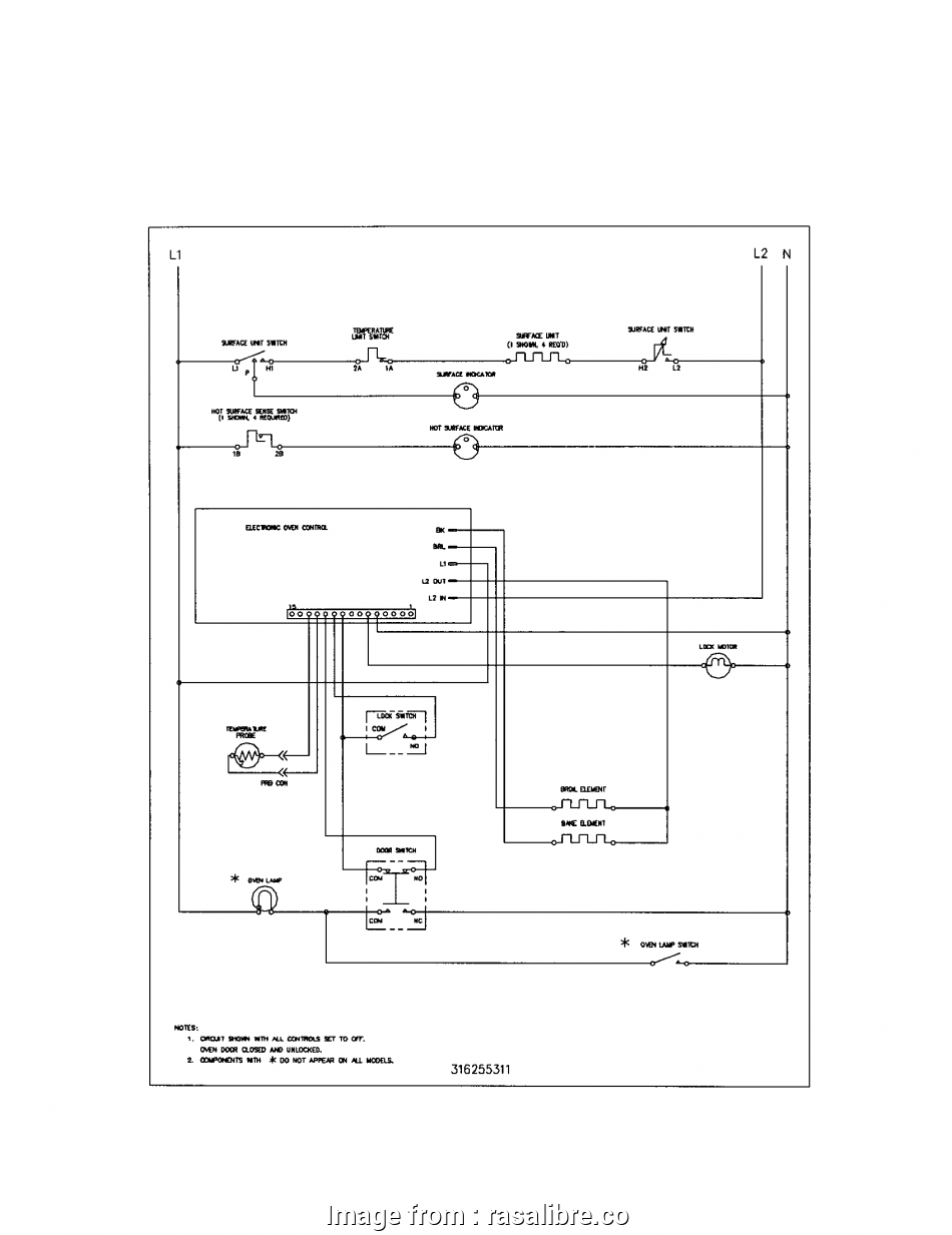 Diagram  Electrical Wiring Most Kenmore Stove Wiring