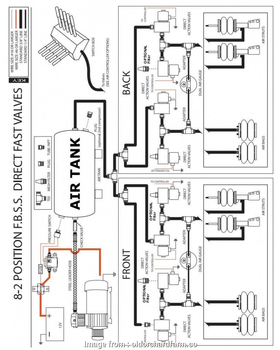 Double Switch  Wiring Diagram New Air Ride Switch  Wiring Diagram 4 Valve  Airbag Suspension Rh