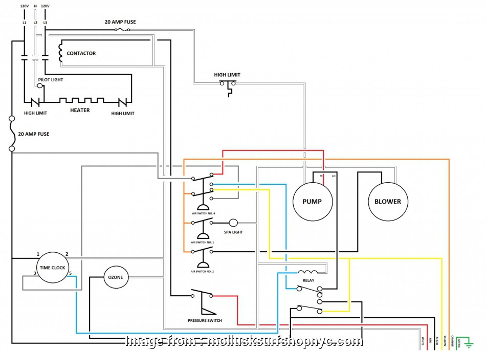 Dpdt Center  Toggle Switch Wiring Creative Spa  Dpdt