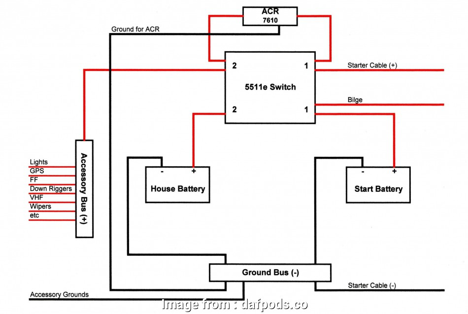 Dual Thermostat Wiring Diagram Most Boat Dual Battery