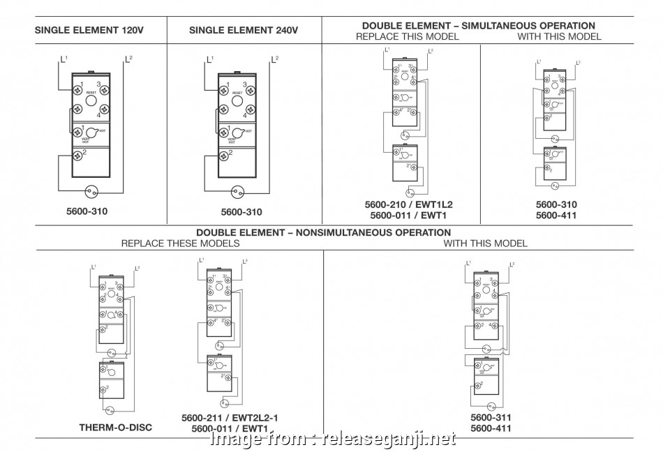 Dual Thermostat Wiring Diagram Practical Hot Water Heater