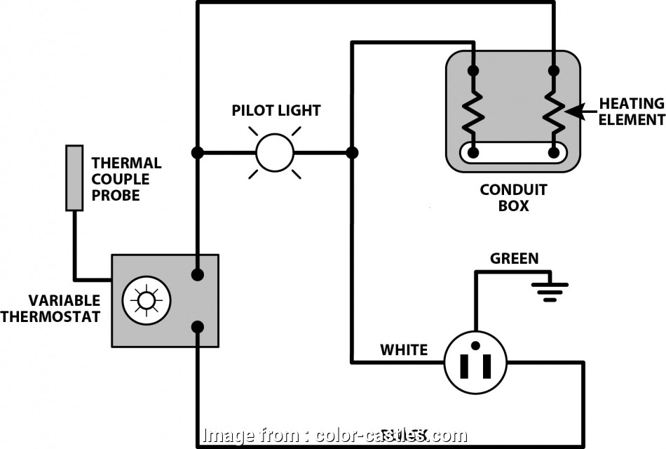 Electric Oven Thermostat Wiring Diagram Best Electric Oven