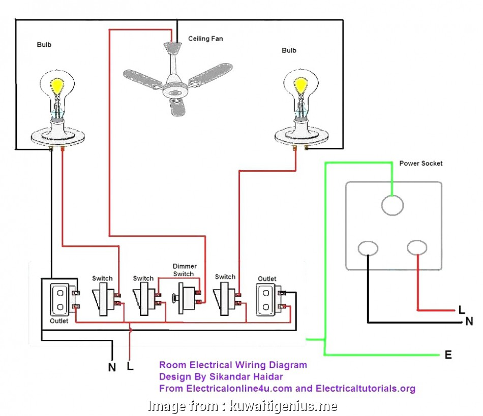 Electric Wiring Diagram House Best Simple Home Electrical