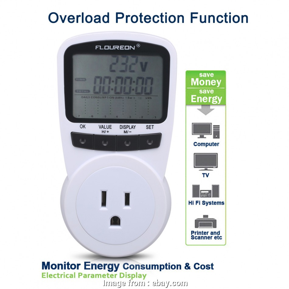 electrical outlet installation calculator Details about US Plug Power Meter Energy Monitor, Electricity Consumption Usage Calculator 16 Popular Electrical Outlet Installation Calculator Solutions
