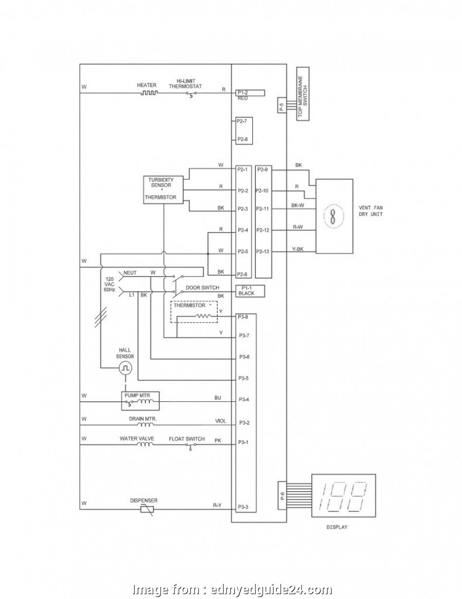 Electrical Wiring Diagram  A Garbage Disposal  Dishwasher