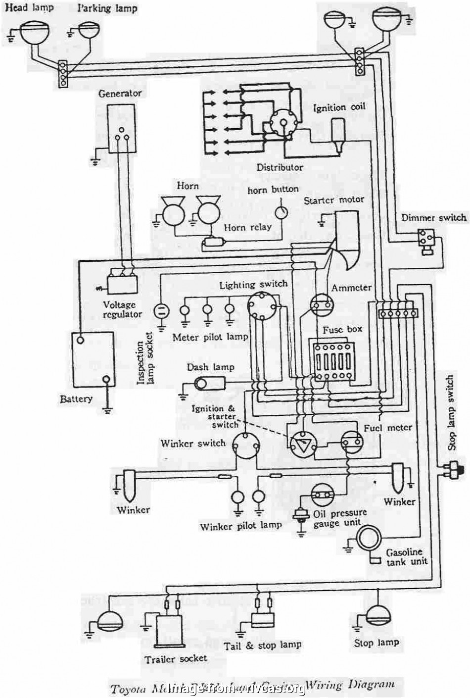 Electrical Wiring Diagram Of Automotive Popular     Electrical Wiring Diagram Toyota Yaris In