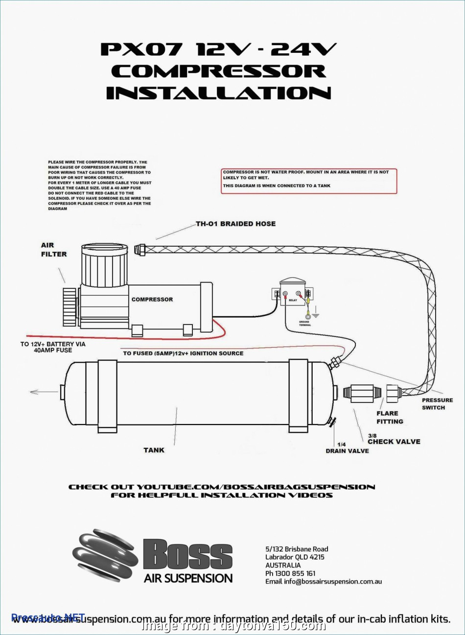 Electrical Wiring Diagram Of  Compressor Creative Wiring