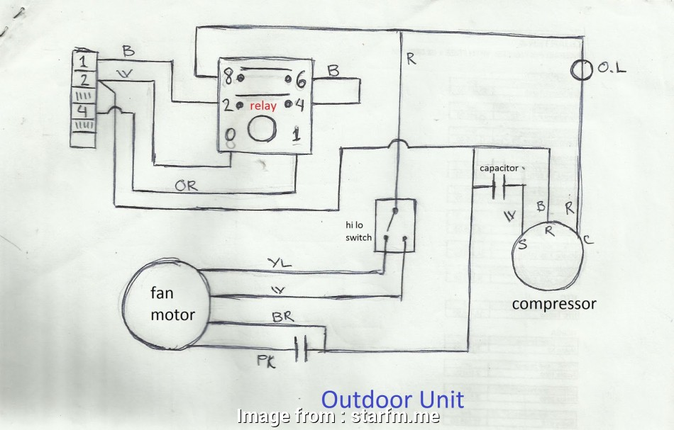 Electrical Wiring Diagram Of Split Ac Brilliant Ac System